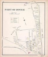 Dover - Ward 1B, New Hampshire State Atlas 1892 Uncolored